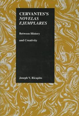 "Cervantes' ""Novelas Ejemplares"": Between History and Creativity - Purdue Studies in Romance Literatures v. 10 (Hardback)"