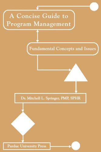 Concise Guide to Program Management: Fundamental Concepts and Issues (Paperback)