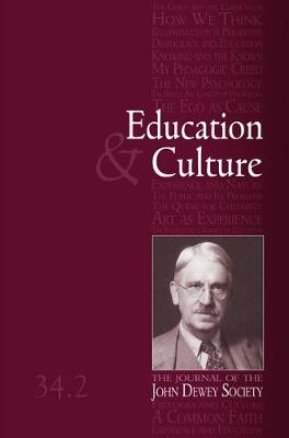 Education and Culture 34-2 (Paperback)