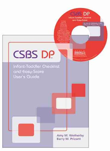 CSBS DP (TM) Infant-Toddler Checklist and Easy-Score: Communication and Symbolic Behavior Scales Developmental Profile (CSBS DP (TM)) (CD-ROM)