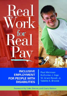 Inclusive Employment: People with Disabilities Going to Work (Paperback)