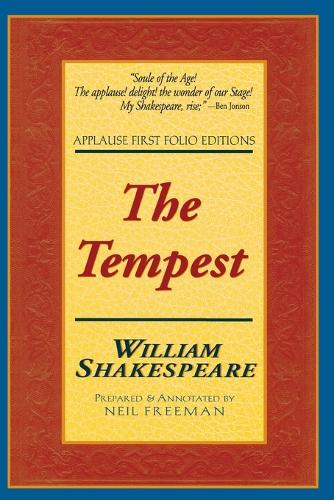 The Tempest - Applause Shakespeare Library Folio Texts (Paperback)