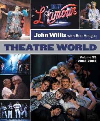 Theatre World 2002-2003 Season - Theatre World (Paperback)