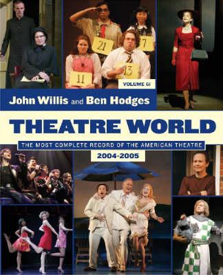 Theatre World 2004-2005 Season - Theatre World (Paperback)
