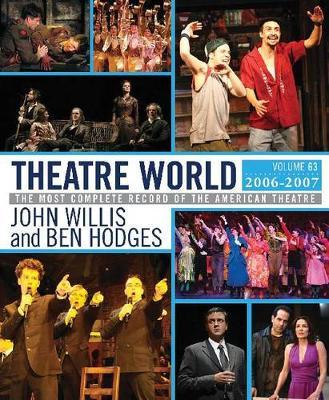 Theatre World, 2006-2007 (Hardback)