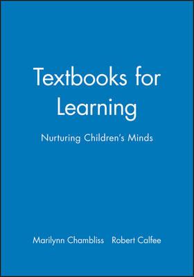 Textbooks for Learning: Nurturing Children's Minds (Hardback)
