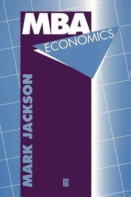 MBA Economics (Paperback)