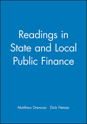 Readings in State and Local Public Finance (Paperback)