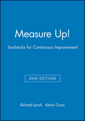 Measure Up!: Yardsticks for Continuous Improvement (Paperback)