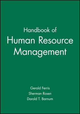 Handbook of Human Resource Management (Hardback)