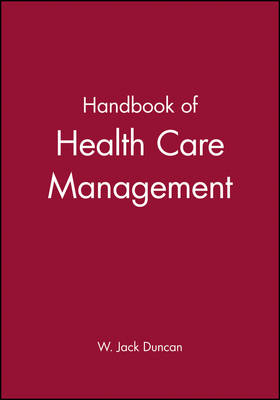 Handbook for Health Care Management (Hardback)
