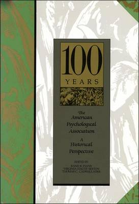The American Psychological Association: A Historical Perspective (Hardback)