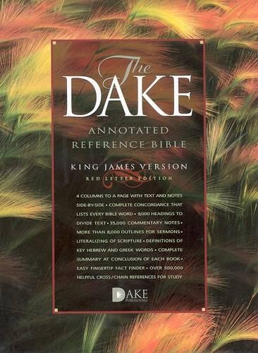 Dake Annotated Reference Bible - KJV (Hardback)