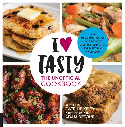 I love tasty by catrine kelty waterstones i love tasty the unofficial cookbook paperback forumfinder Gallery