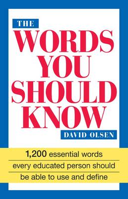 The Words You Should Know (Paperback)