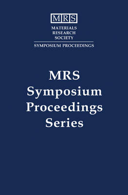 Nondestructive Monitoring of Materials Properties: Volume 142 - MRS Proceedings (Hardback)