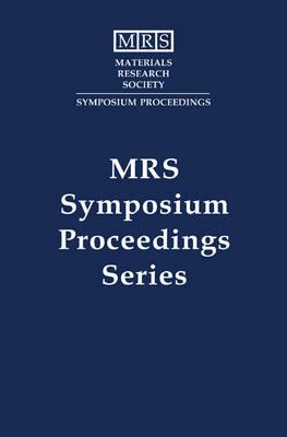 Electronic Packaging Materials Science VIII: Volume 390 - MRS Proceedings (Hardback)
