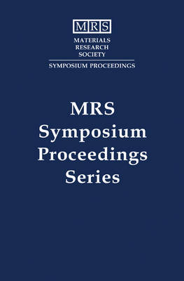 Thin Films for Integrated Optics Applications: Volume 392 - MRS Proceedings (Hardback)