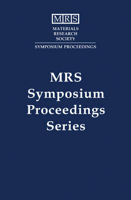 High-Temperature Superconductors-Crystal Chemistry, Processing and Properties: Volume 659 - MRS Proceedings (Hardback)