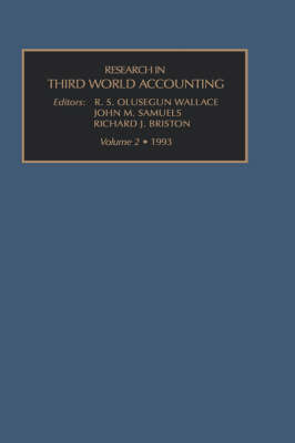 Research in Third World Accounting: v. 2 - Research in Third World Accounting Vol 2 (Hardback)