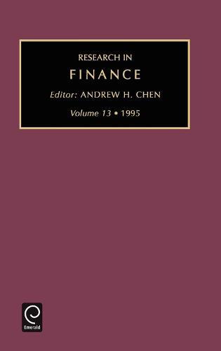 Research in Finance - Research in Finance 14 (Hardback)