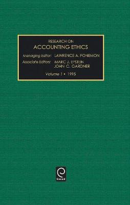 Research on Accounting Ethics - Research on Accounting Ethics 1 (Hardback)