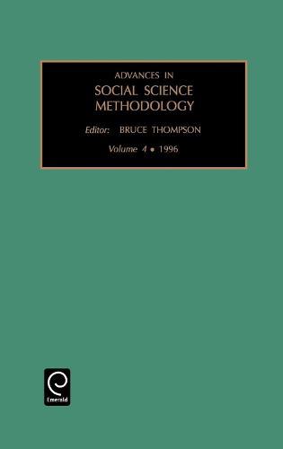 Advances in Social Science Methodology - Advances in Social Science Methodology 4 (Hardback)