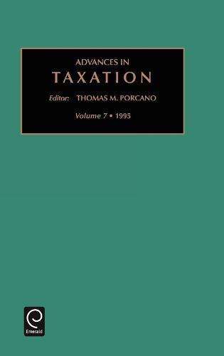Advances in Taxation - Advances in Taxation 7 (Hardback)