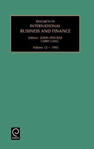 Research in International Business and Finance - Research in International Business and Finance 12 (Hardback)