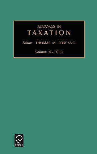 Advances in Taxation - Advances in Taxation 16 (Hardback)