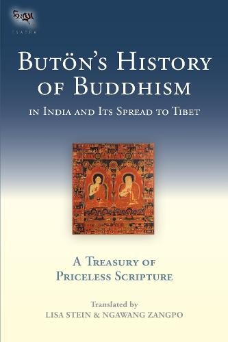 Buton's History Of Buddhism In India And Its Spread To Tibet (Hardback)
