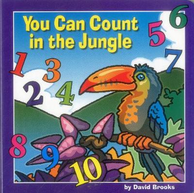 You Can Count in the Jungle (Board book)