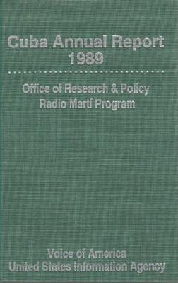 Cuba Annual Report 1989 (Hardback)