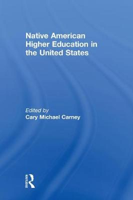 Native American Higher Education in the United States (Hardback)