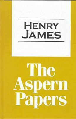 The Aspern Papers - Transaction Large Print S. (Paperback)