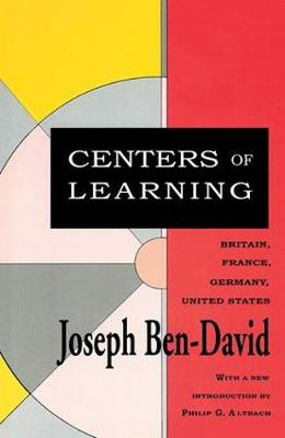 Centers of Learning: Britain, France, Germany, United States (Paperback)