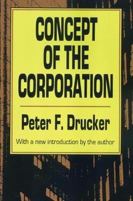 Concept of the Corporation (Paperback)