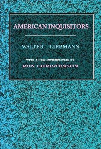 American Inquisitors (Paperback)