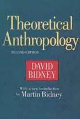 Theoretical Anthropology (Paperback)