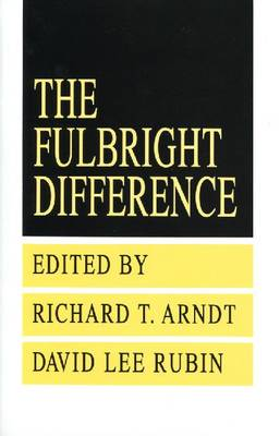 The Fulbright Difference: 1948-1992 (Paperback)