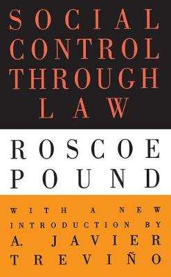 Social Control Through Law (Paperback)