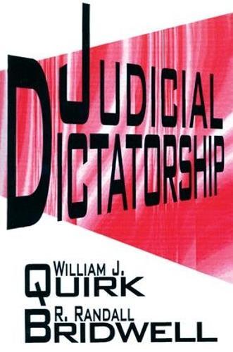 Judicial Dictatorship (Paperback)