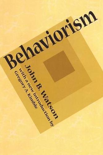Behaviorism (Paperback)