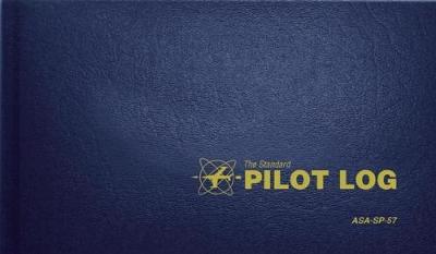 The Standard Pilot Log (Navy Blue): ASA-SP-57 (Hardback)