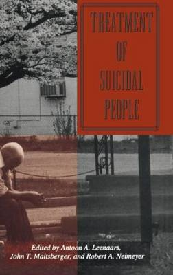 Treatment Of Suicidal People - Series in Death, Dying, and Bereavement (Hardback)
