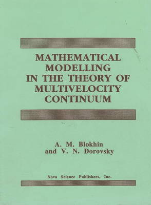 Mathematical Modelling in the Theory of Multivelocity Continuum (Hardback)