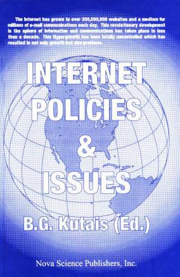 Internet Policies & Issues, Volume 1 (Hardback)