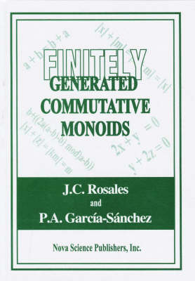 Finitely Generated Commutative Monoids (Hardback)