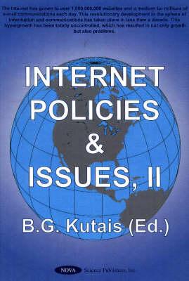 Internet Policies & Issues, Volume 2 (Hardback)