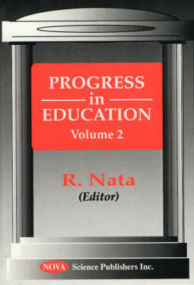 Progress in Education, Volume 2 (Hardback)